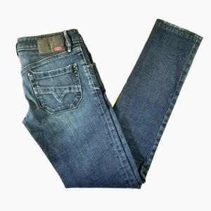Diesel Nevy Dark Wash Skinny Jeans